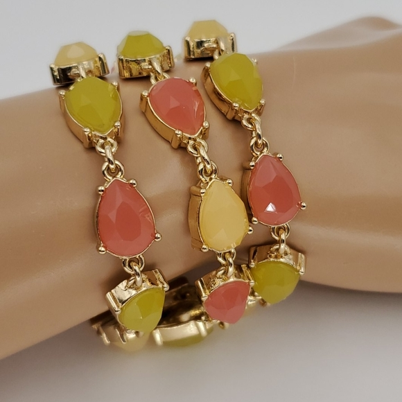 Talbots 3 Strand Colorful Bracelet